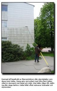 Fasadtvätt lågtryck
